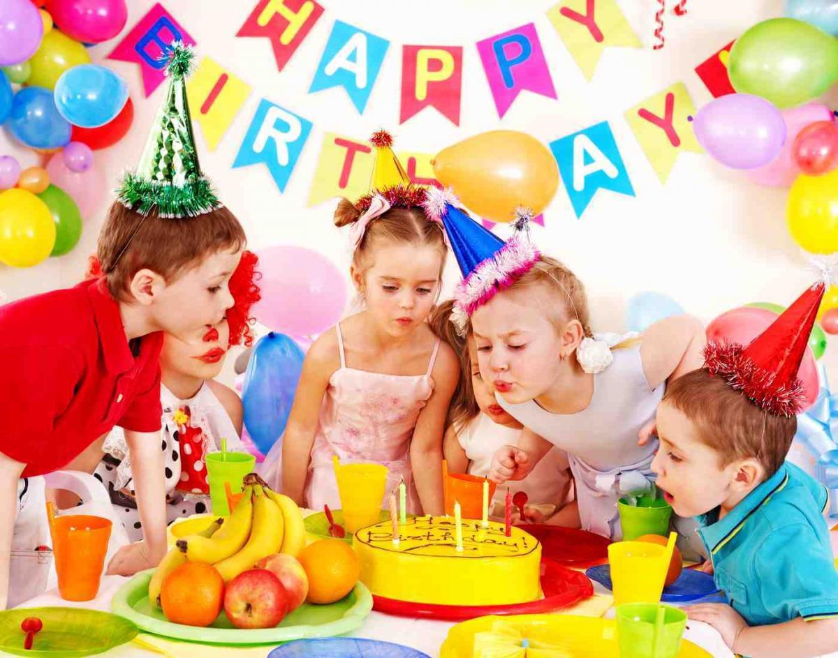 И проведение детского дня рождения