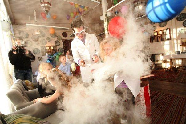 химическое фото шоу
