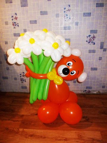 Фигурки из шаров для детей своими руками